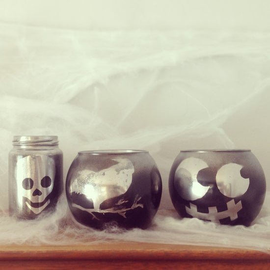 Spooky Votive Candles