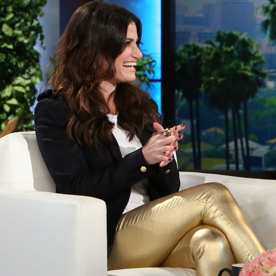 Idina Menzel on The Ellen DeGeneres Show September 2016