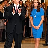 Kate Middleton checked out the Road To 2012: Aiming High exhibit.