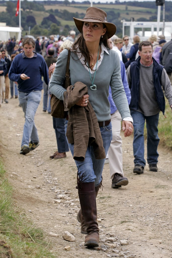 Kate Middleton in Her Penelope Chilvers Tassel Boots, 2005: