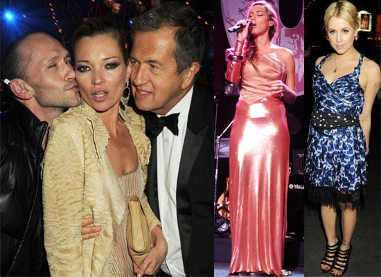 Photos of Kate Moss, Peaches Geldof, Liz Hurley, Paloma Faith and Leona Lewis at the Love Ball