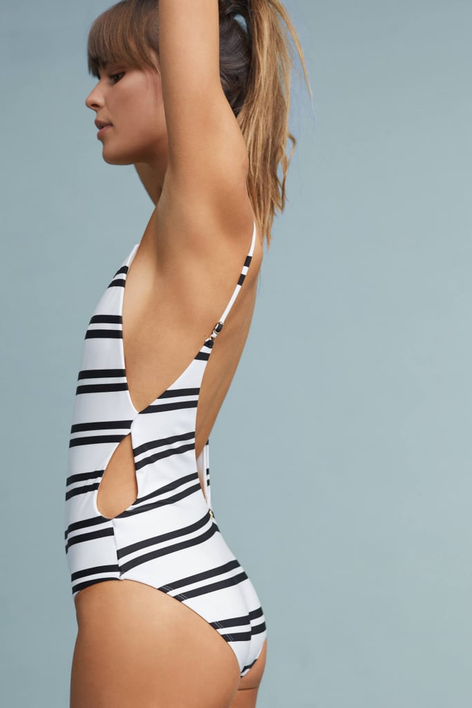 249995274c Black and White Swimsuit | POPSUGAR Fashion