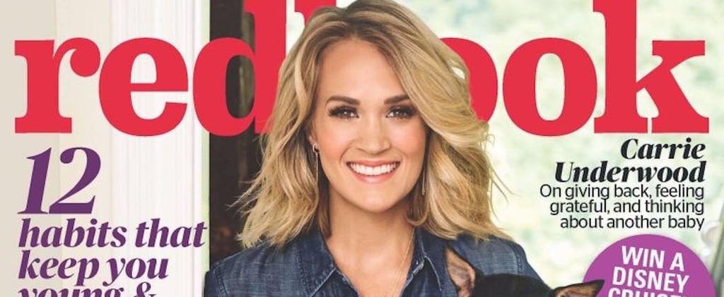 Carrie Underwood Motherhood Quotes Redbook Nov. 2016