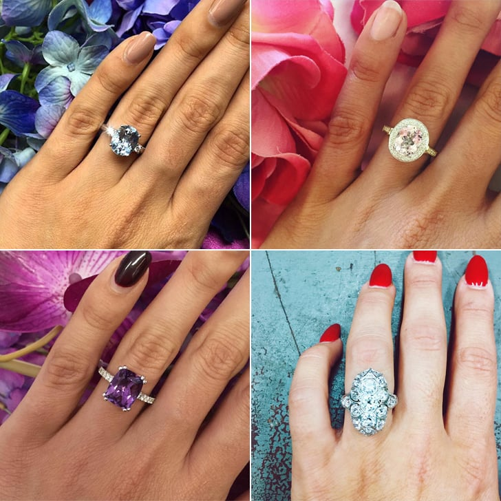 10 Celebrity Wedding Details You Can Totally Copy On A: Engagement Rings For Spring Proposals