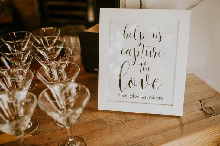 Wedding Hashtag Ideas | POPSUGAR Tech