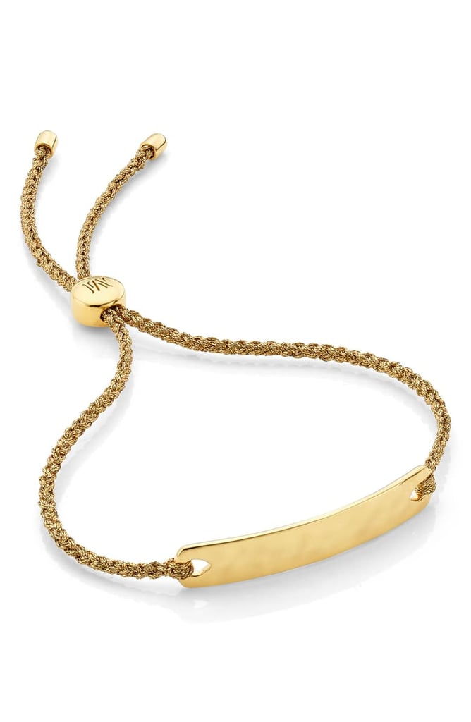 Monica Vinader Engravable Havana Mini Friendship Bracelet
