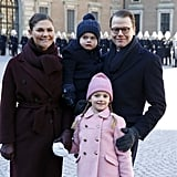 The Royal Family All Dressed Up For the Crown Princess's Name Day