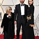 Bradley Cooper With His Mom, Gloria Campano, and Irina Shayk