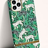 Richmond & Finch Green Leopard Phone Case