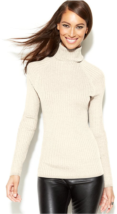How to Wear Turtleneck Sweaters | Celebrity Style | POPSUGAR Fashion