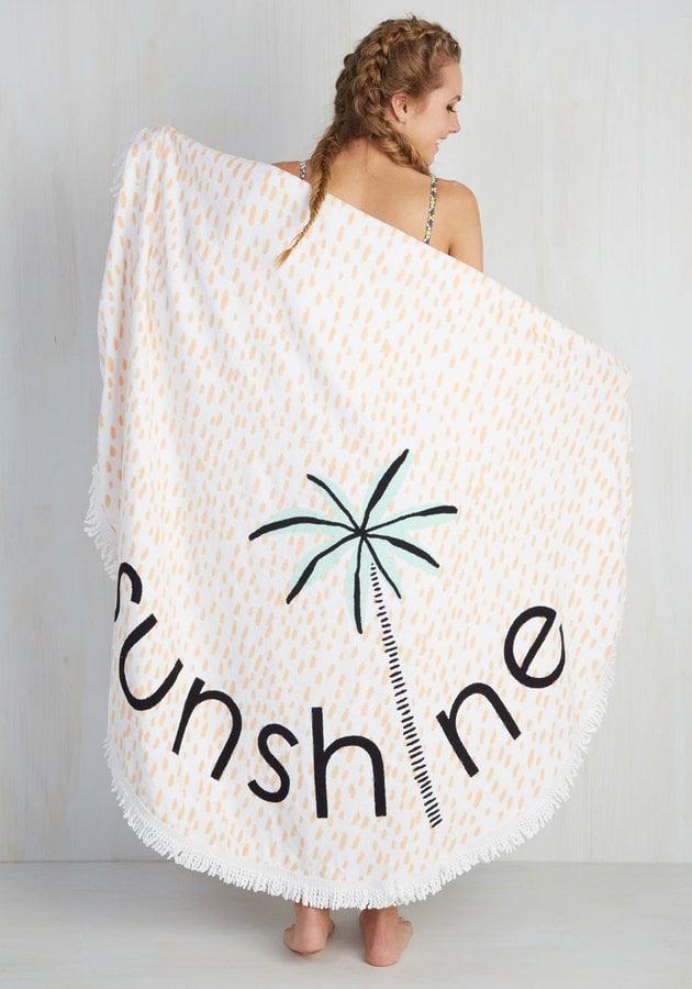 Playa it Cool Beach Towel ($100)