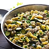 1-Pan Turkey Pasta With Courgette and Lemon