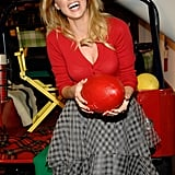 Amber Heard had a ball at the Tommy Hilfiger FNO event in 2010.