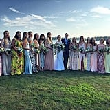 We Wish We Were in This Chic Wedding Party!