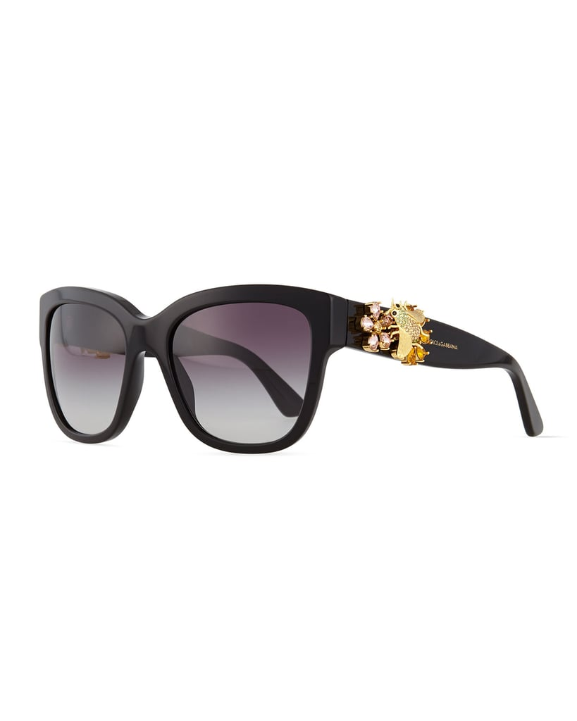 Dolce & Gabbana Jewel Encrusted Sunglasses ($840)