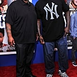 Grizz from 30 Rock met up with Shaquille O'Neal on the red carpet.