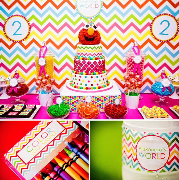 ElmoThemed Birthday Party For Girls POPSUGAR Moms