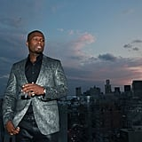 50 Cent had a gorgeous view of the NYC sunset at an IntelxSMSAudio BioSport event on Thursday.