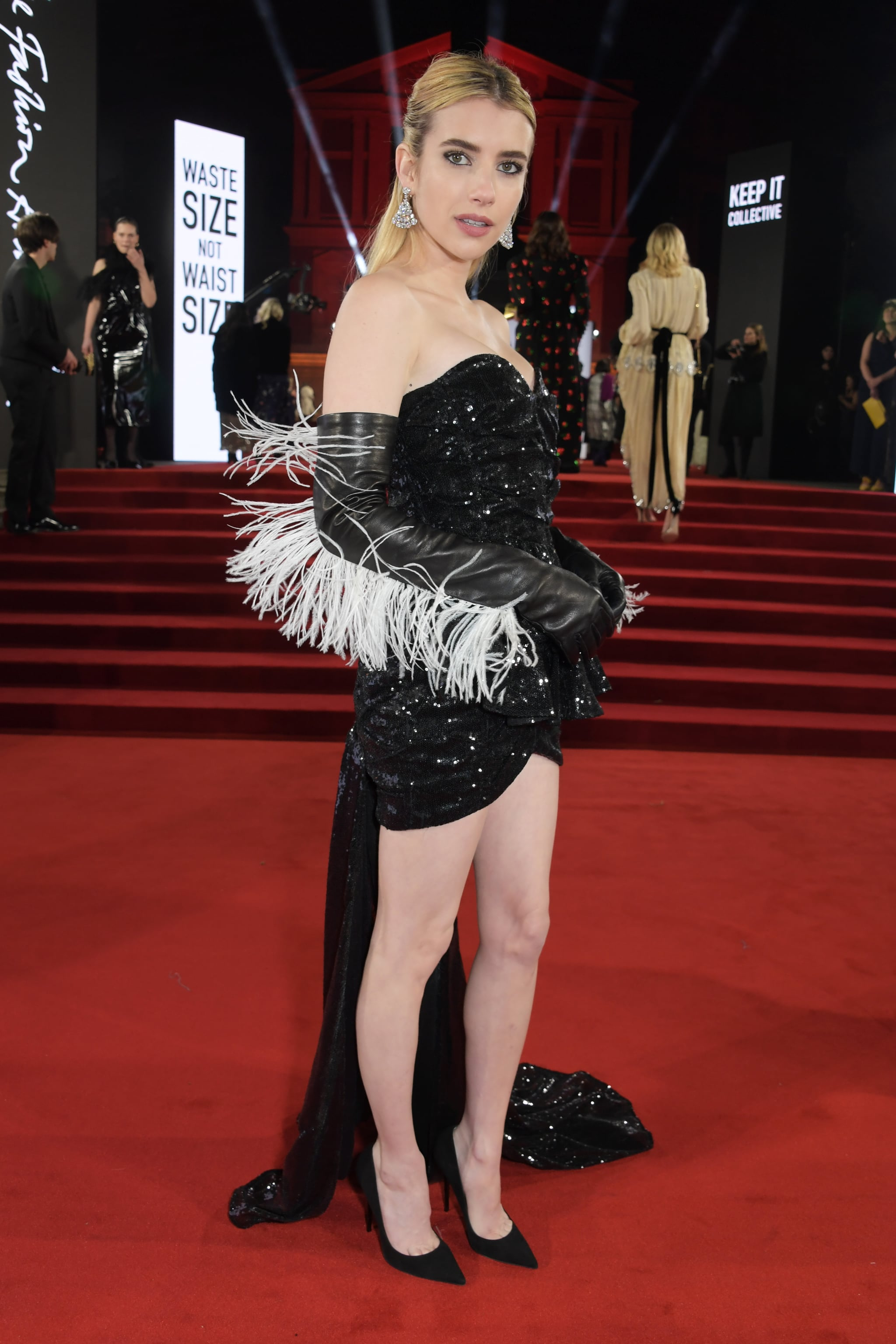 Emma Roberts At The British Fashion Awards 2019 In London The Best Moments From The British Fashion Awards In 116 Fabulous Photos Popsugar Celebrity Photo 55