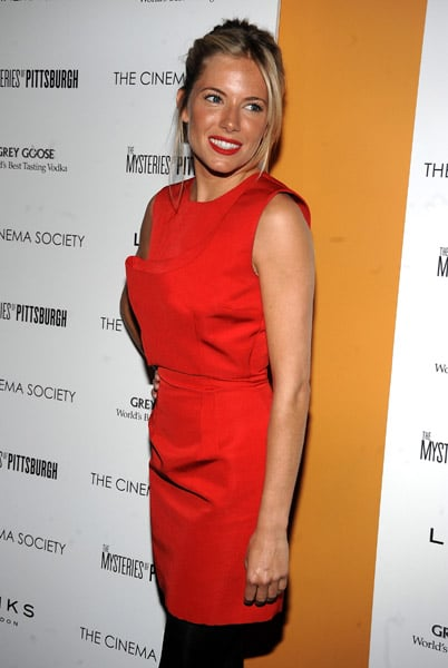 Sienna Miller at The Mysteries of Pittsburgh Screening