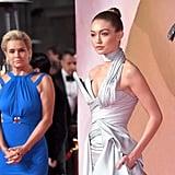 Gigi and Yolanda at the British Fashion Awards