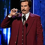 Will Ferrell, or Ron Burgundy, would be the perfect man to share a scotch with.