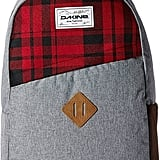 Plaid Panel Backpack