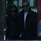 Jennifer Lopez and Casper Smart were seen together in Santiago, Chile
