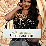 Prince Harry and Meghan Markle at Geographic Society Awards