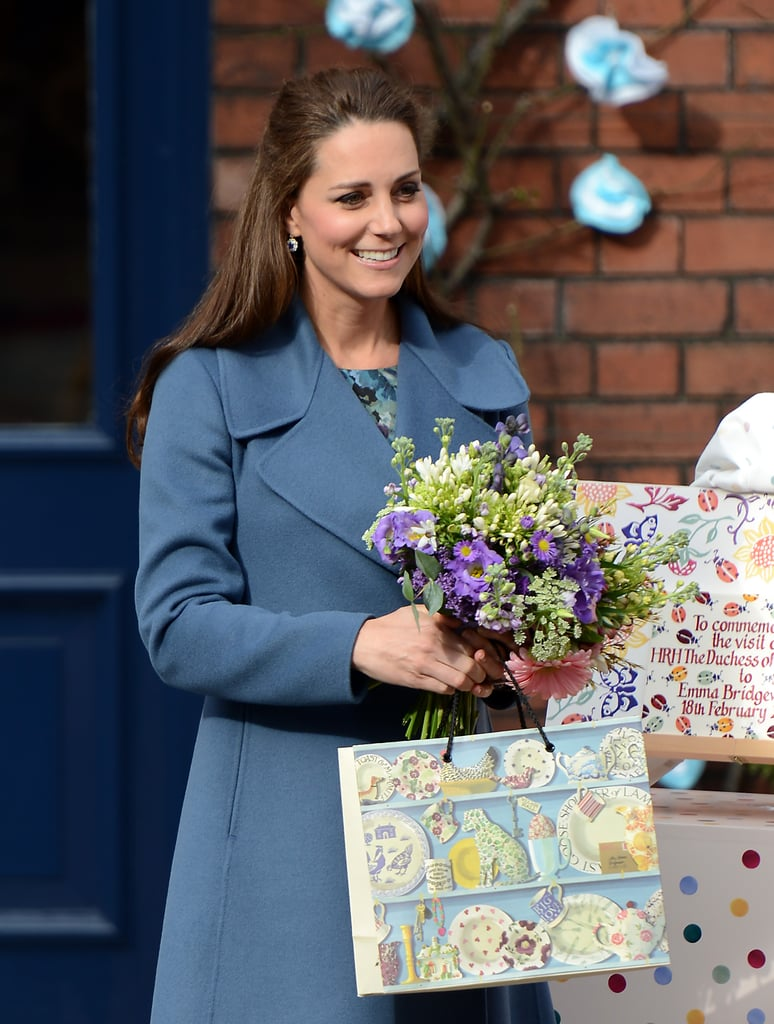 The Duchess of Cambridge Shows Off Her Rosy Glow During a Royal Outing