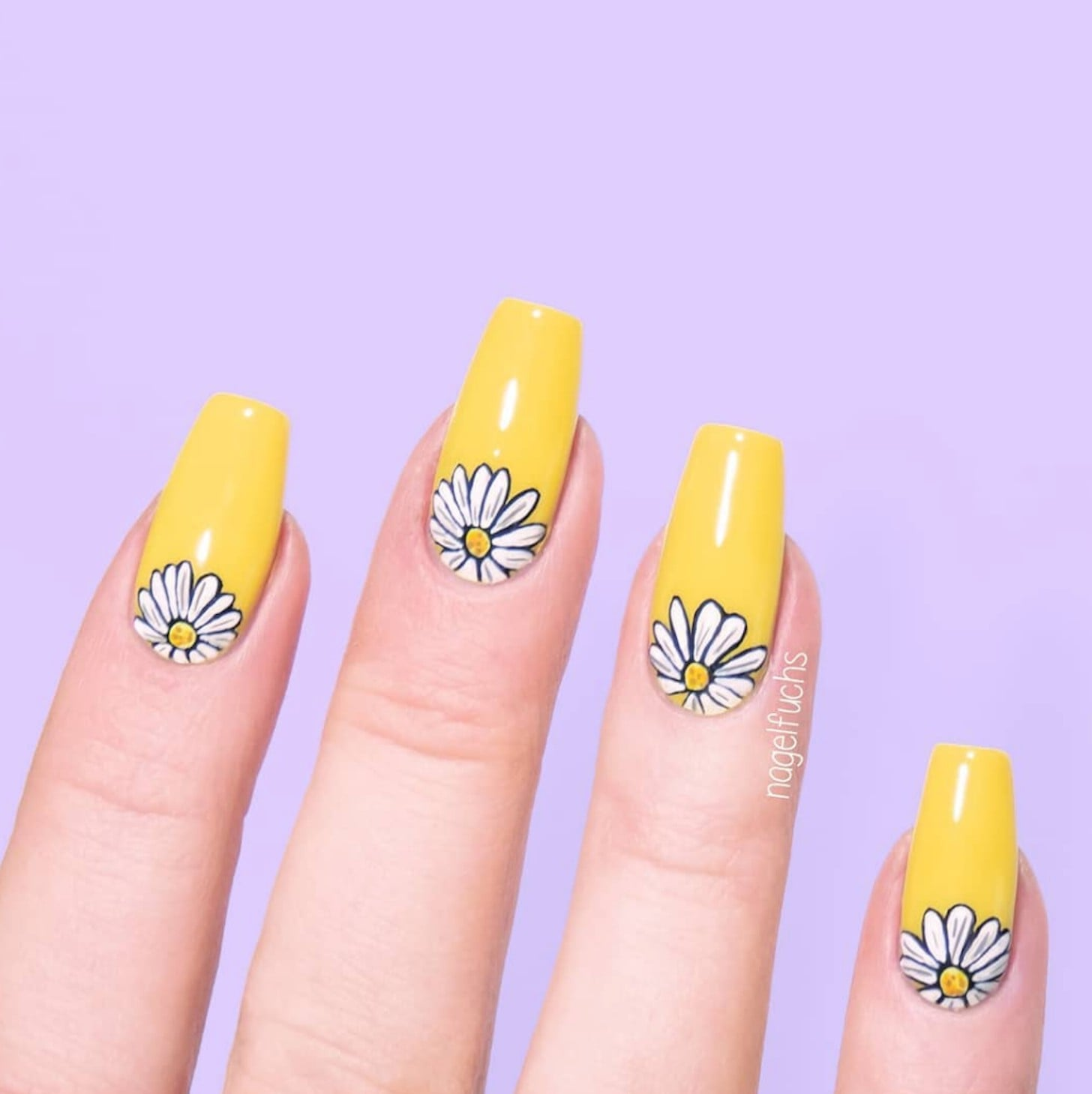 Daisy Nail Art Ideas Popsugar Beauty
