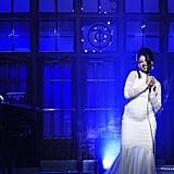 Cardi B SNL White Dress 2018
