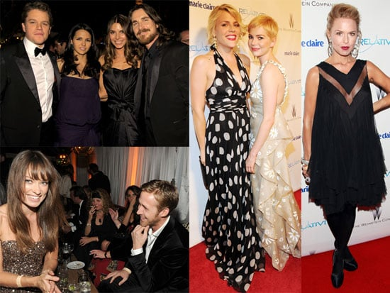 Pictures of Ryan Gosling, Matt Damon, Rachel Zoe, Michelle Williams at Weinstein Golden Globes Afterparty