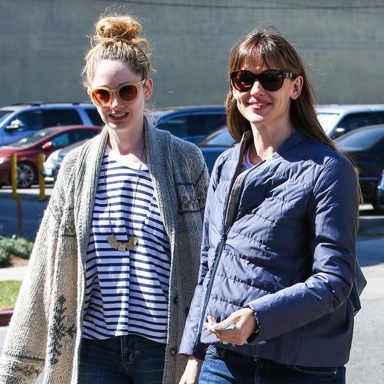 Ben Affleck and Jennifer Garner at Lunch With Judy Greer