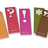 Got a love for grammar? Show it by using these quirky punctuation page markers ($7, originally $10).