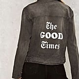 The Laundry Room Good Times Denim Jacket ($178)