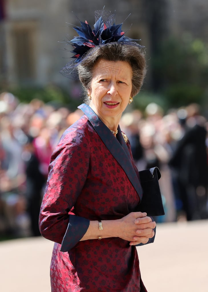 Princess Anne Princess Royal Royal Wedding Guest Style 2018