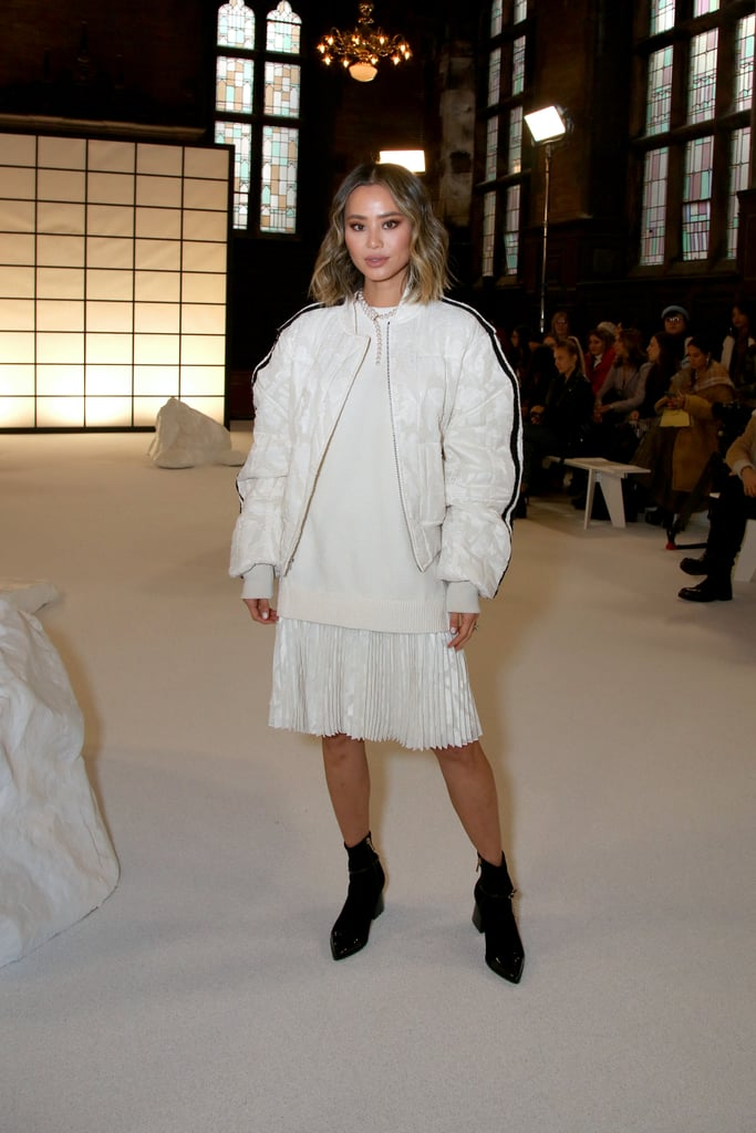Jamie Chung at the ADEAM Fall 2020 Show