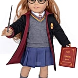 Hermione-Inspired Hogwarts Uniform For Dolls