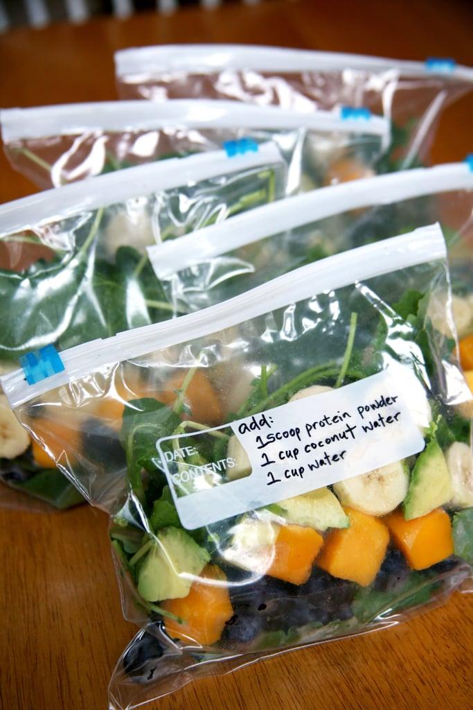 Make a Week of Freezer Smoothie Packs