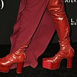 Hunter Schafer Wearing Rick Owens at the InStyle Awards 2019