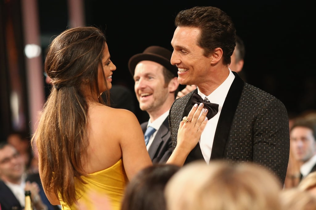 At the 2014 SAGs, Matthew and Camila looked sweet.