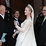 Princess Nathalie and Alexander Johannsmann The Bride: Princess Nathalie of ‪of Sayn-Wittgenstein-Berleburg‬, niece of Queen Margrethe II of Denmark. The Groom: Alexander Johannsmann, a German horse breeder. When: June 18, 2011. Where: Berleburg, Germany.