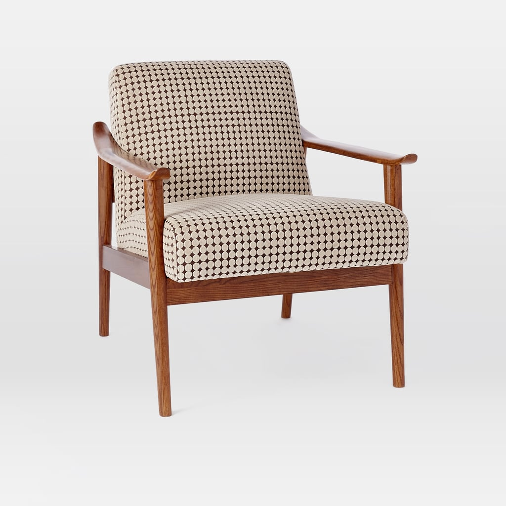 West Elm Mid-Century Show Wood Upholstered Chair, $999