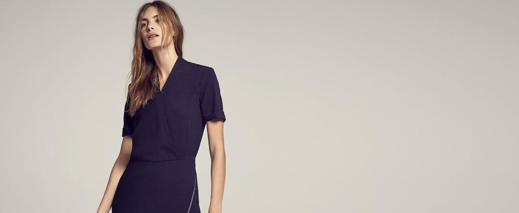 MM.LaFleur Black Wrap Dress