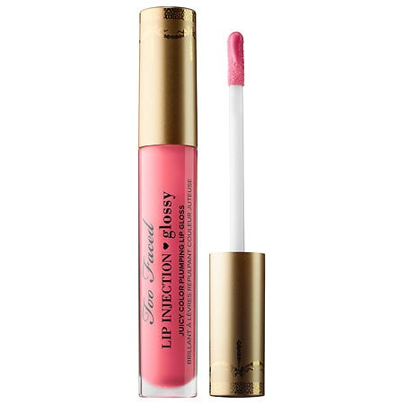 Too Faced Lip Injection Glossy in Let's Flamingle ($31)