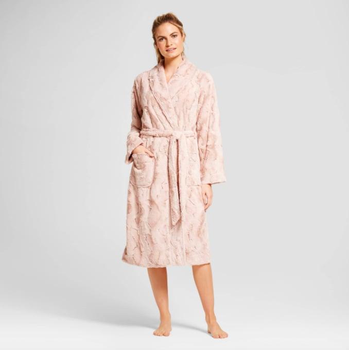 Gilligan & O'Malley Faux Fur Robe