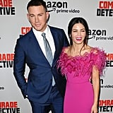Channing and Jenna were a sight for sore eyes at the Comrade Detective premiere in August 2017.