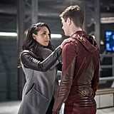 Barry and Iris From The Flash