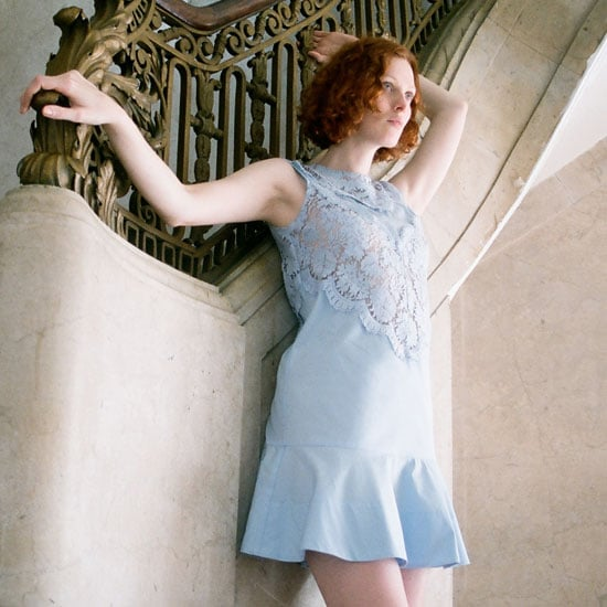 Lover the Label's First Campaign Featuring Karen Elson